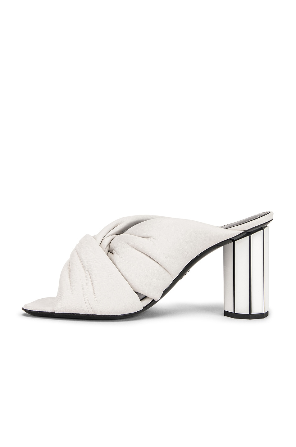 Image 5 of Proenza Schouler Mirror Heel Twist Mules in White