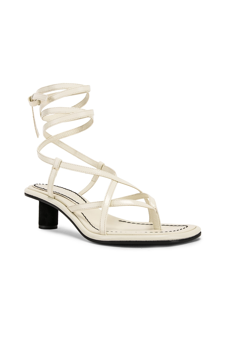 Image 2 of Proenza Schouler Gladiator Sandals in Ecru