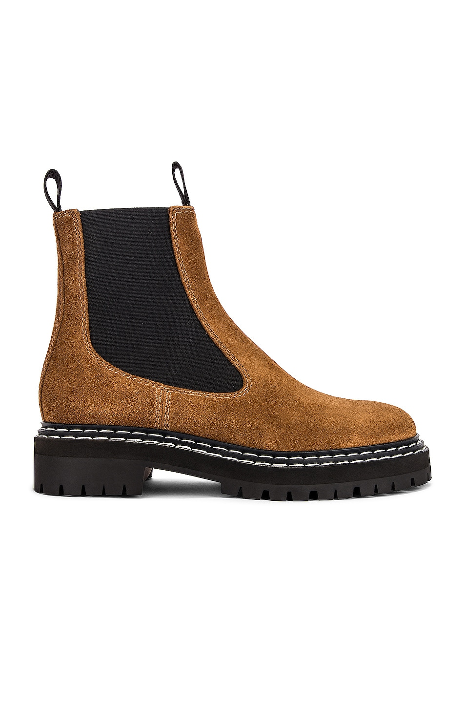 Image 1 of Proenza Schouler Lug Sole Chelsea Boots in Brown