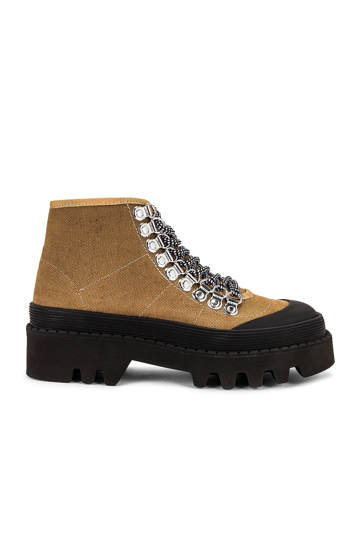 Image 1 of Proenza Schouler City Lug Sole Boots in Khaki