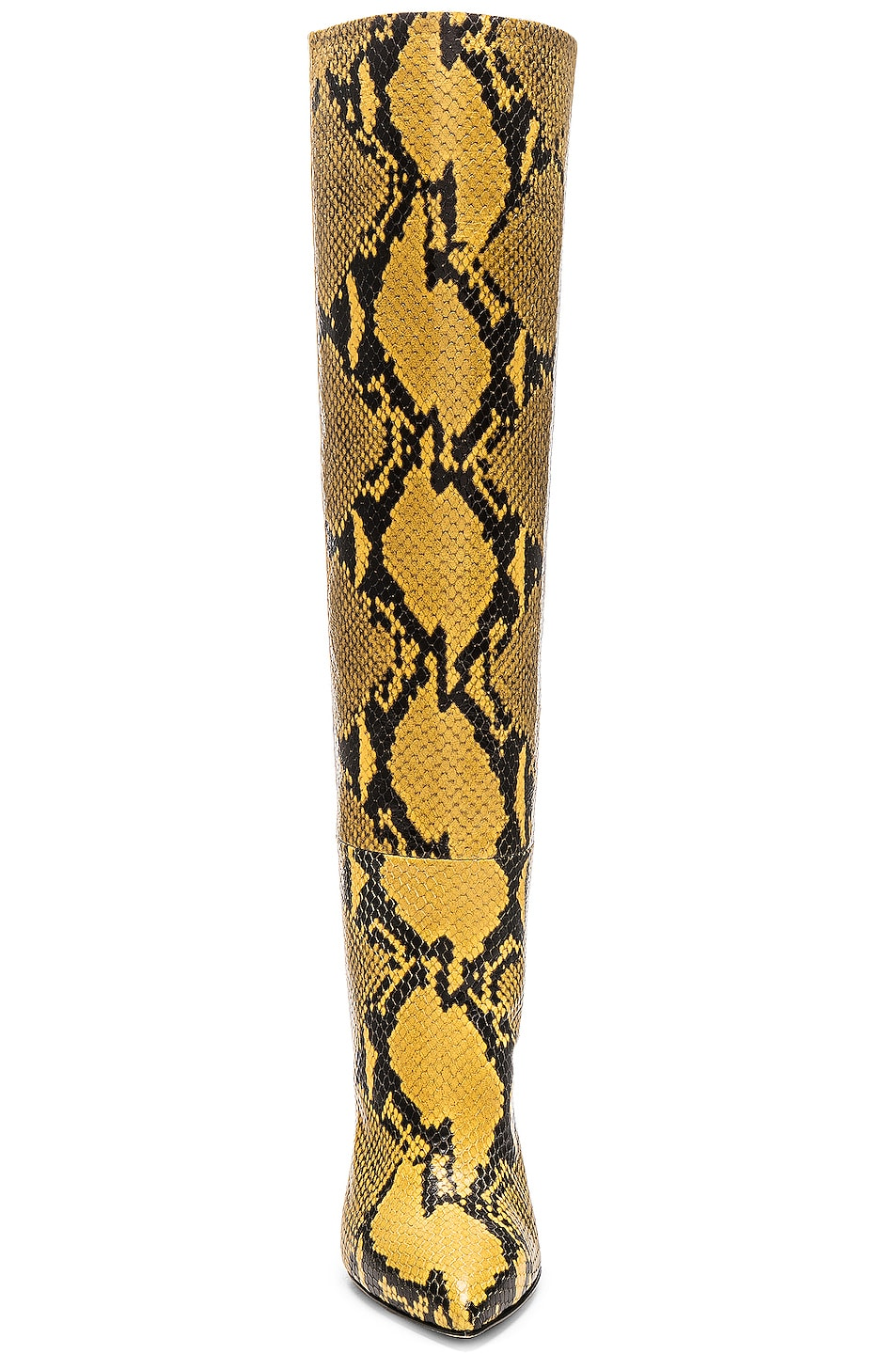 Image 4 of Paris Texas Stiletto Knee High Boot in Yellow