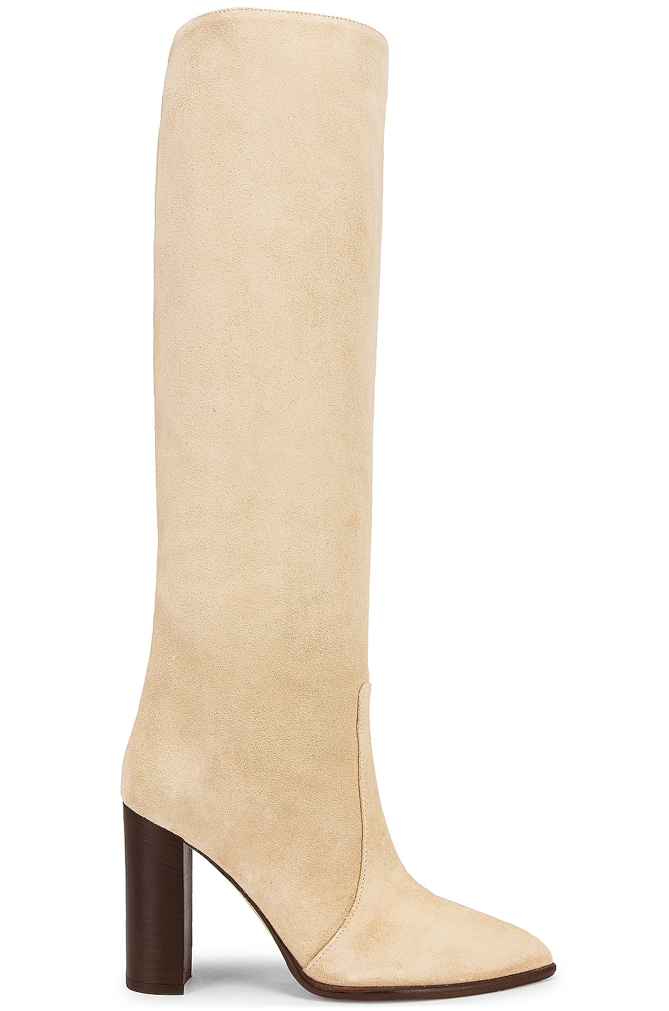 Image 1 of Paris Texas Suede Sienna 100 Boot in Angora