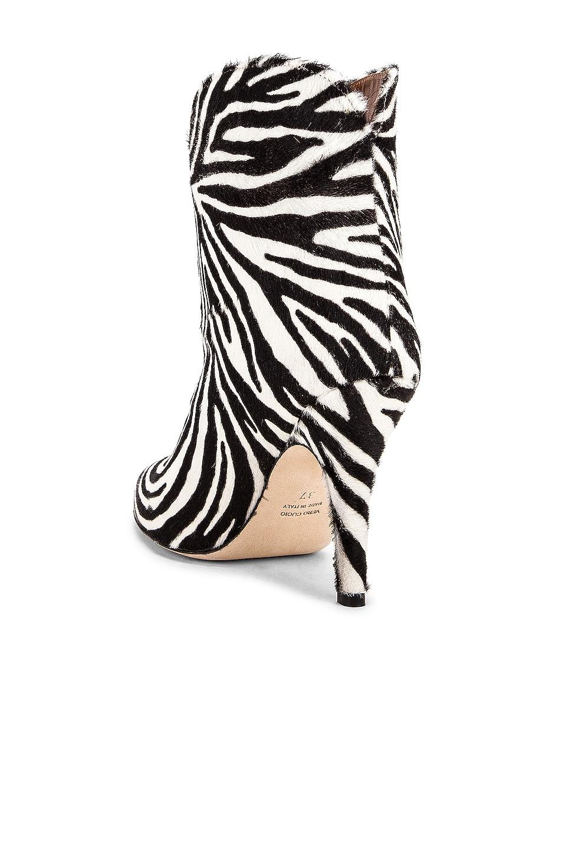 Image 3 of Paris Texas Pony Ankle Boot in Zebra