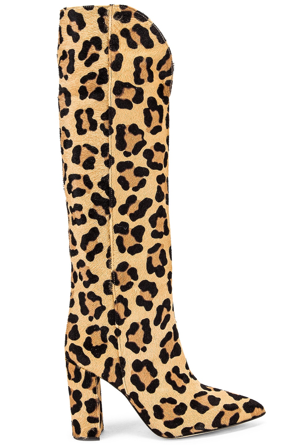 Image 1 of Paris Texas Pony High Boot in Leopard