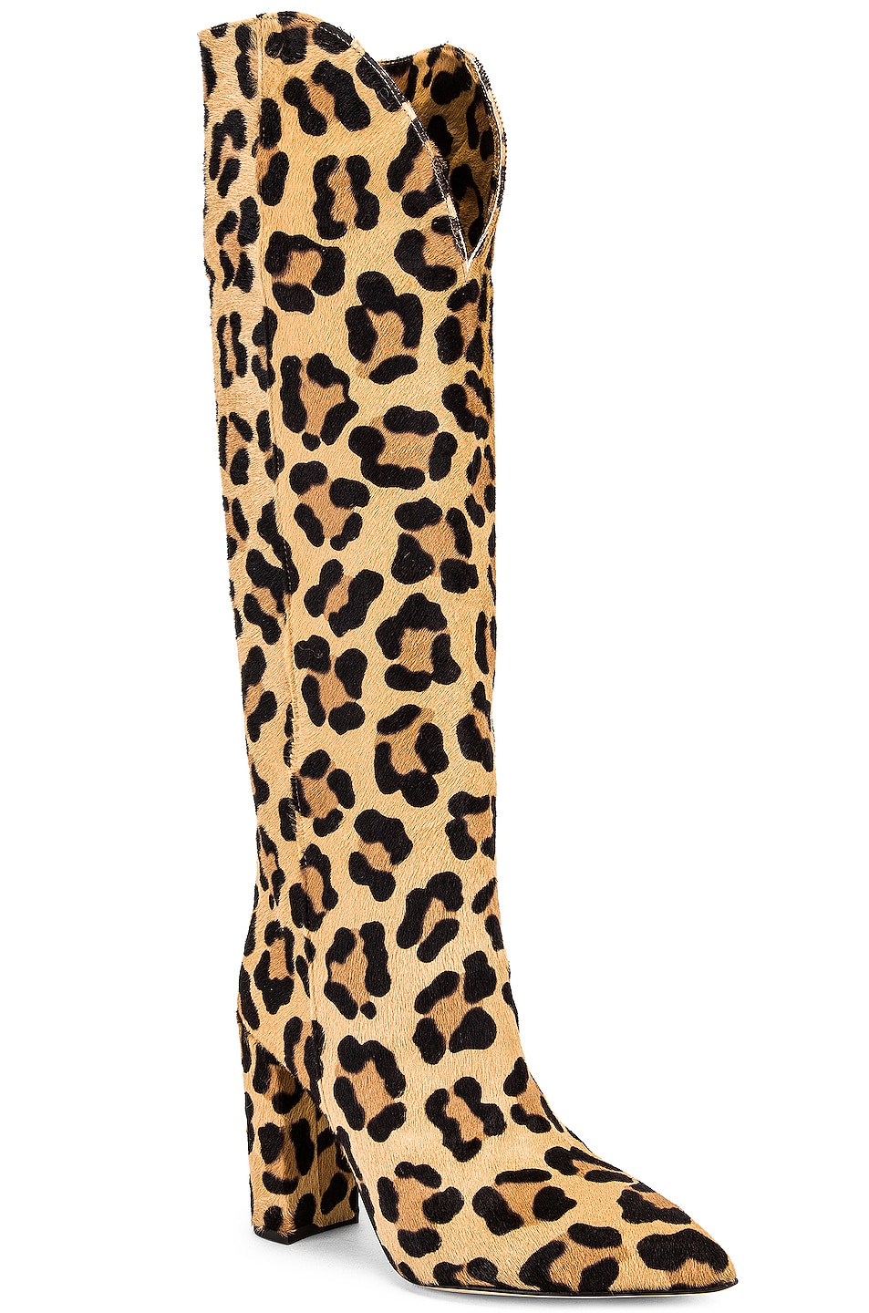 Image 2 of Paris Texas Pony High Boot in Leopard