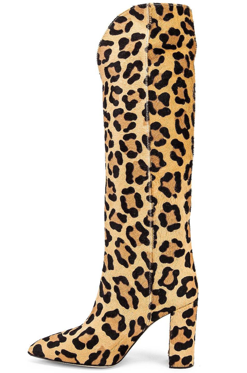 Image 5 of Paris Texas Pony High Boot in Leopard