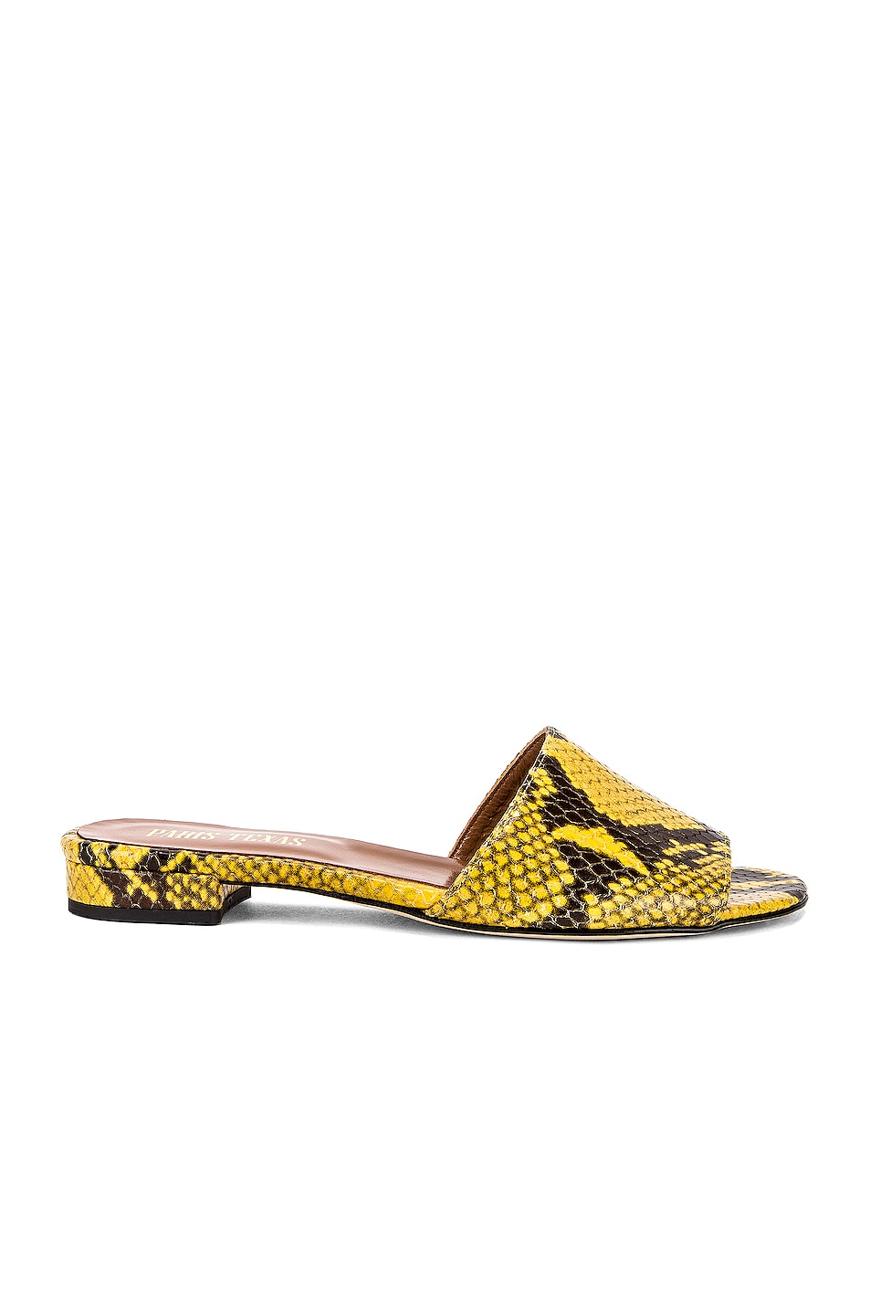 Paris Texas Snake Flat Yellow free shipping