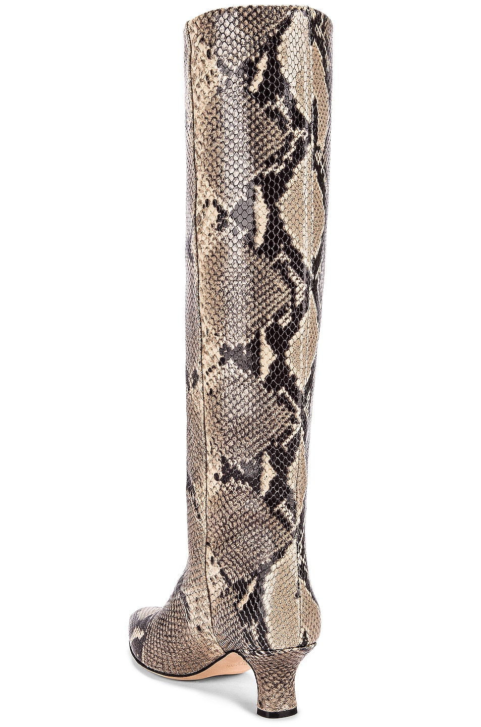 Image 3 of Paris Texas Python Print Boot in New Natural