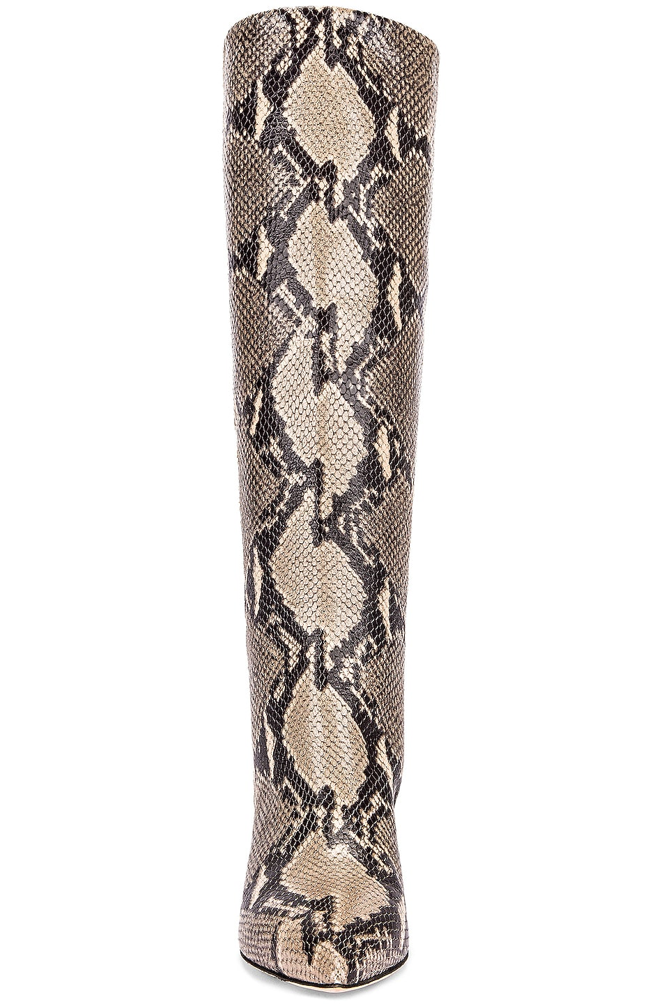 Image 4 of Paris Texas Python Print Boot in New Natural