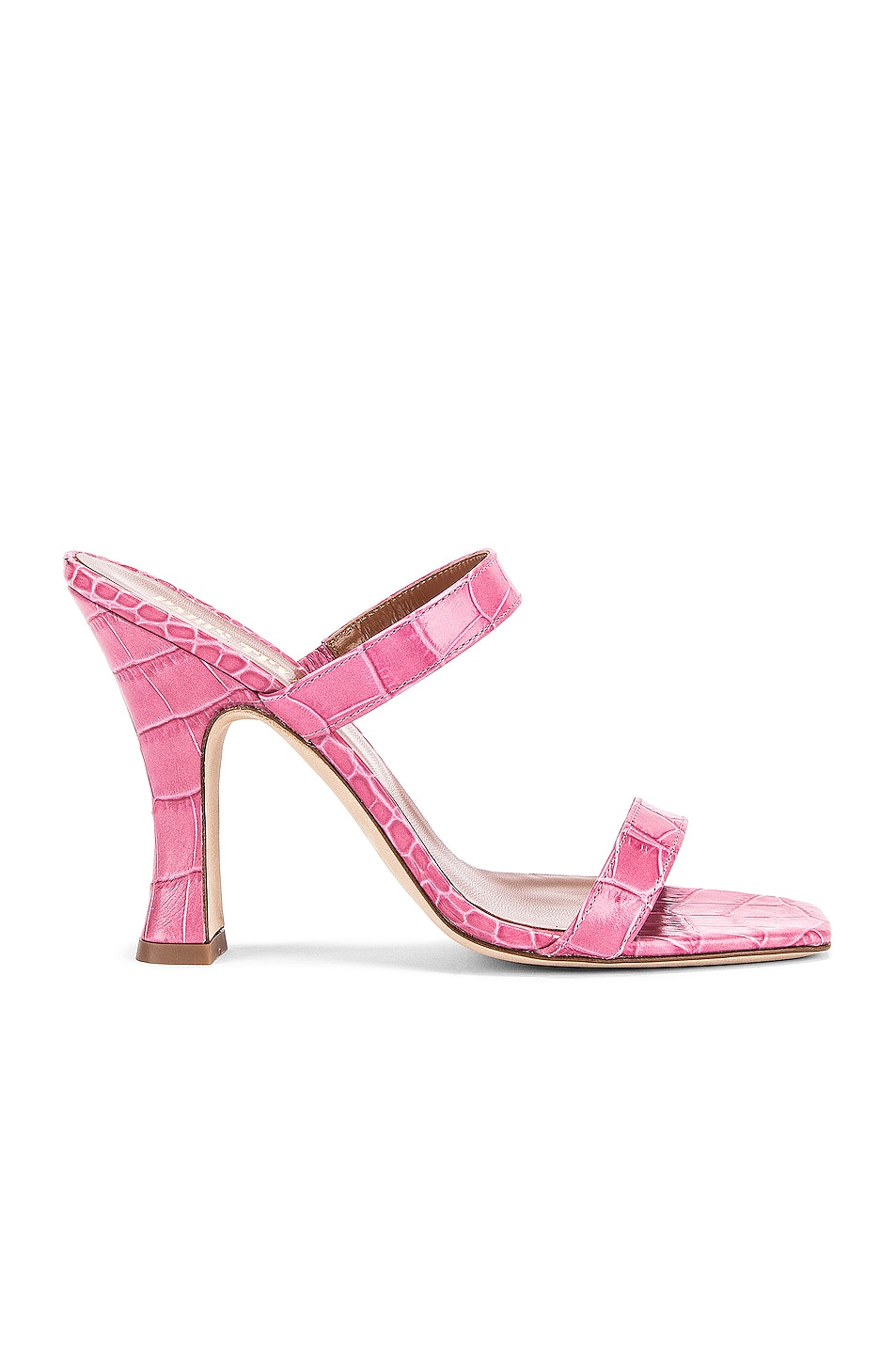 Image 1 of Paris Texas Moc Croco Mule in Fuchsia