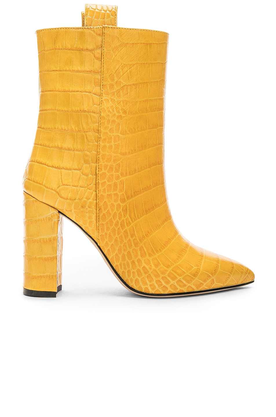 Image 1 of Paris Texas Ankle Boot in Yellow Croc