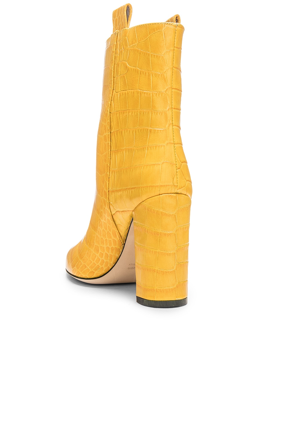 Image 3 of Paris Texas Ankle Boot in Yellow Croc