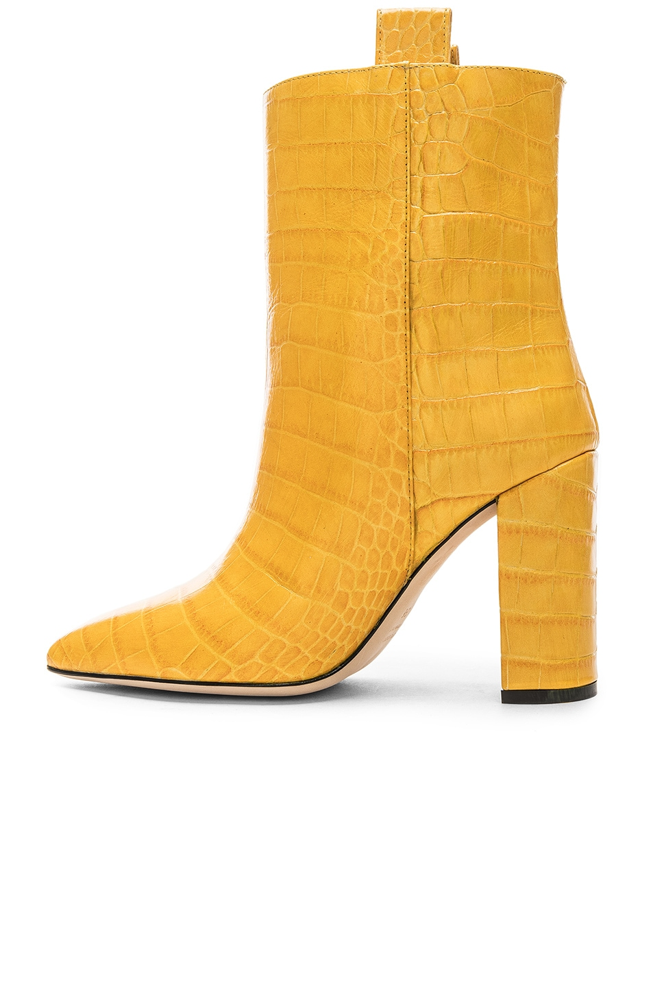 Image 5 of Paris Texas Ankle Boot in Yellow Croc