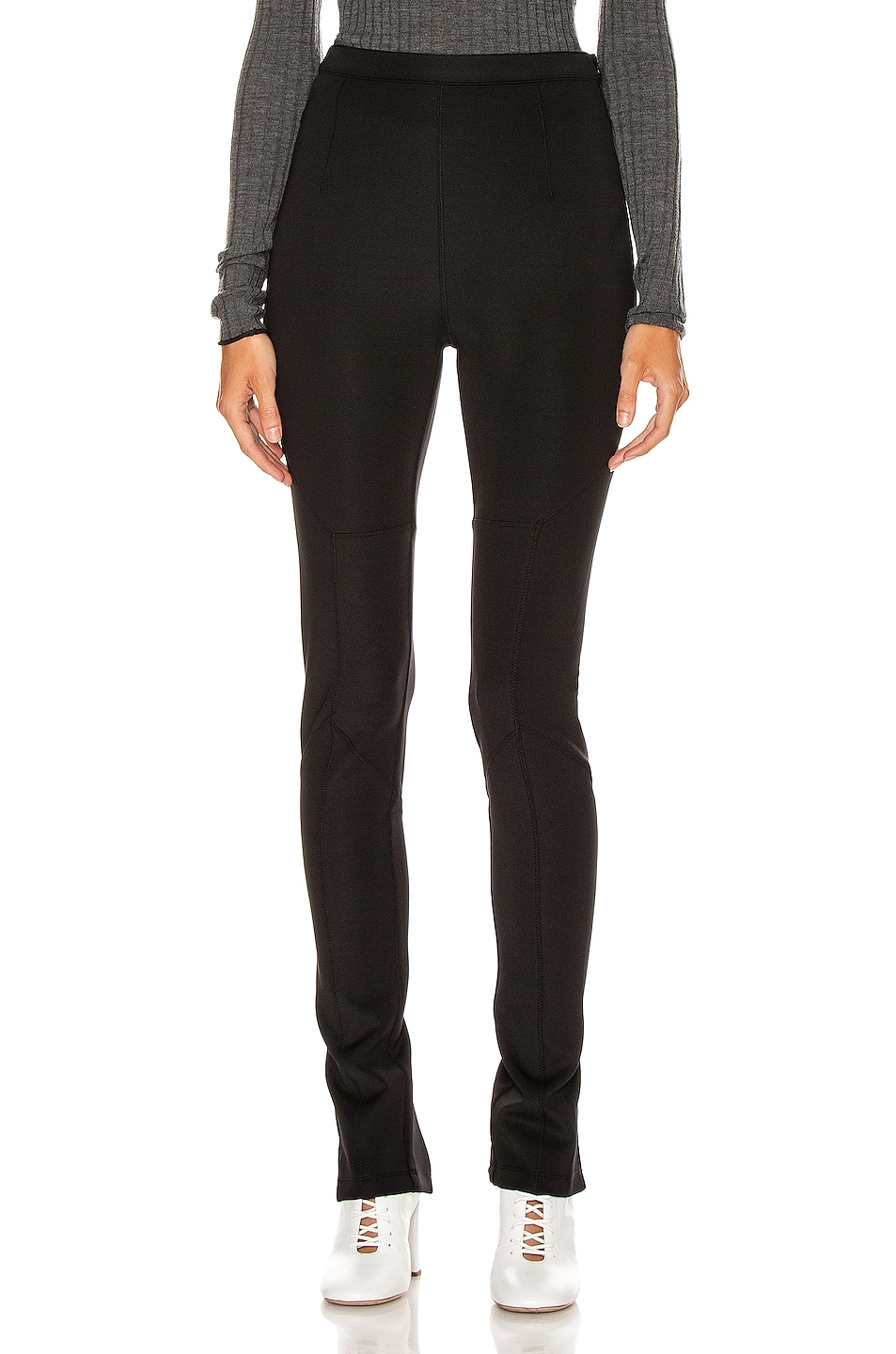 Image 1 of Proenza Schouler White Label Straight Leg Pant in Black