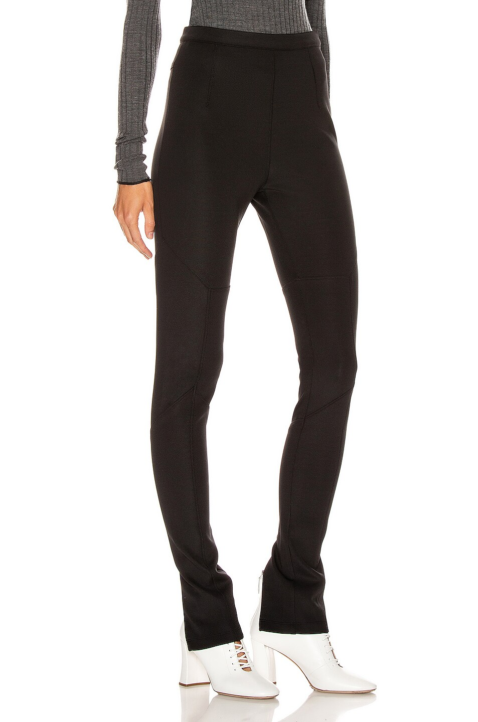 Image 2 of Proenza Schouler PSWL Straight Leg Pant in Black