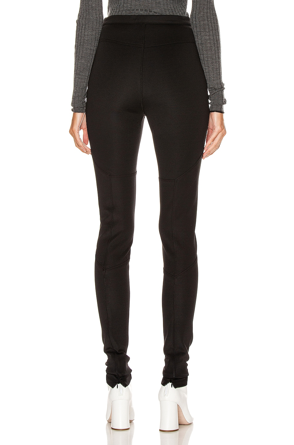 Image 3 of Proenza Schouler PSWL Straight Leg Pant in Black