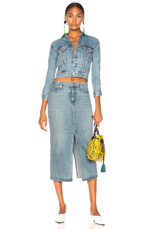 Image 4 of Proenza Schouler PSWL Slit Skirt in California