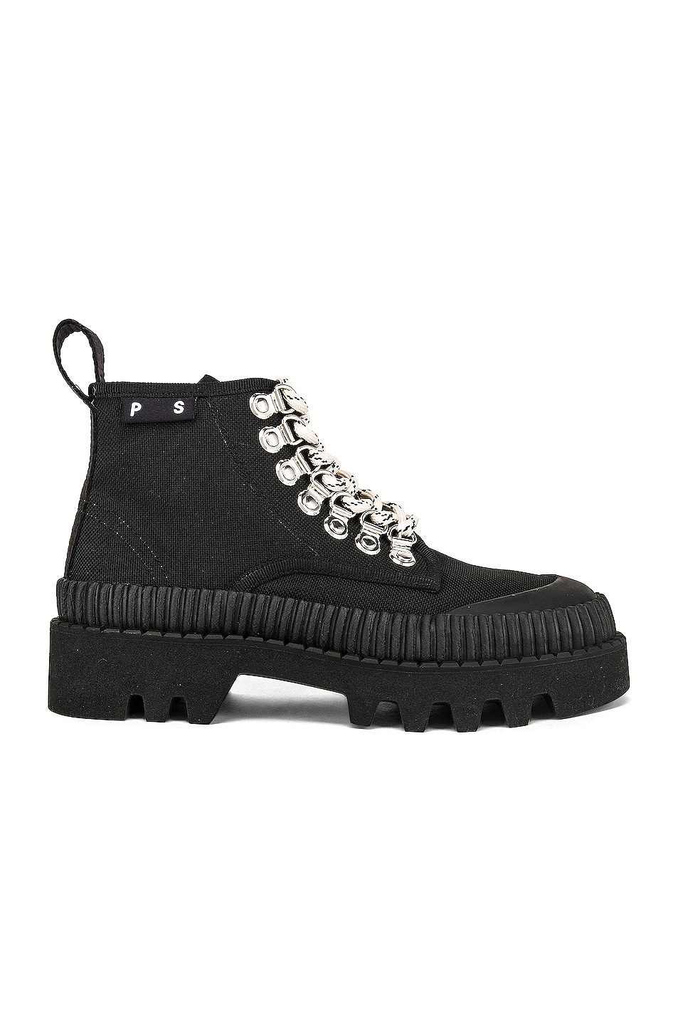 Image 1 of Proenza Schouler White Label Chunky Ankle Boot in Black