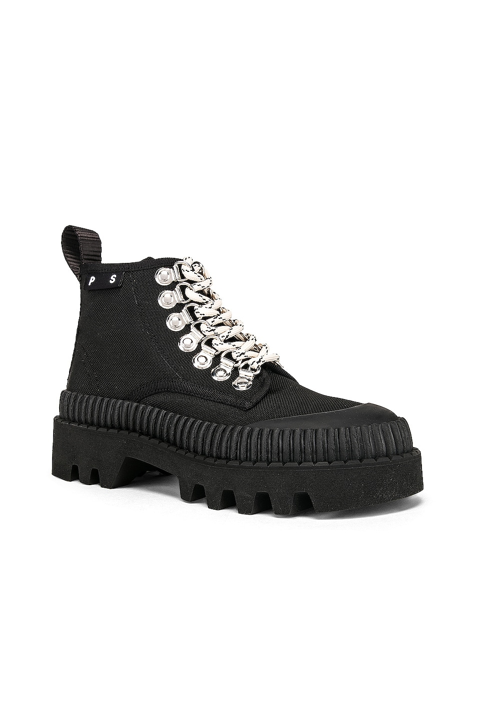 Image 2 of Proenza Schouler White Label Chunky Ankle Boot in Black