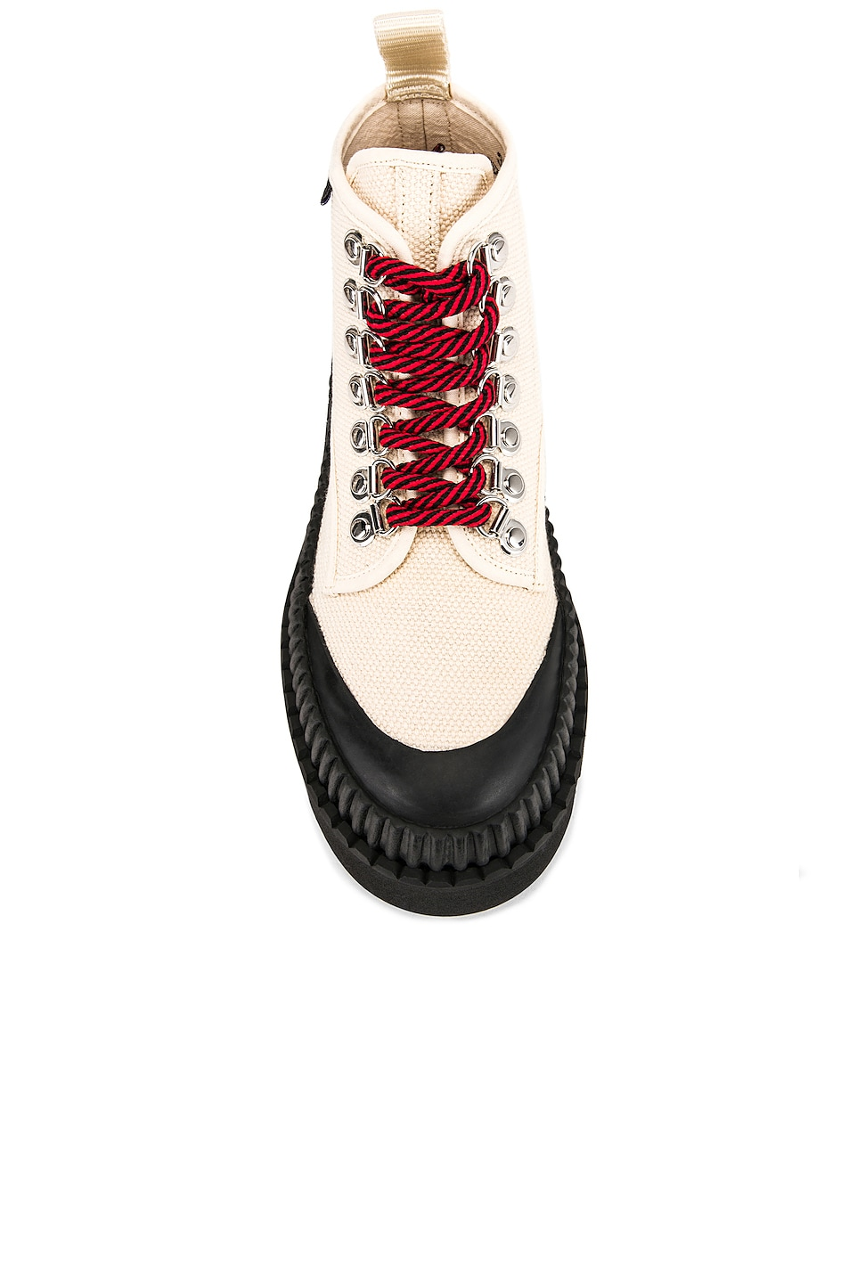Image 4 of Proenza Schouler PSWL Chunky Ankle Boot in Ecru