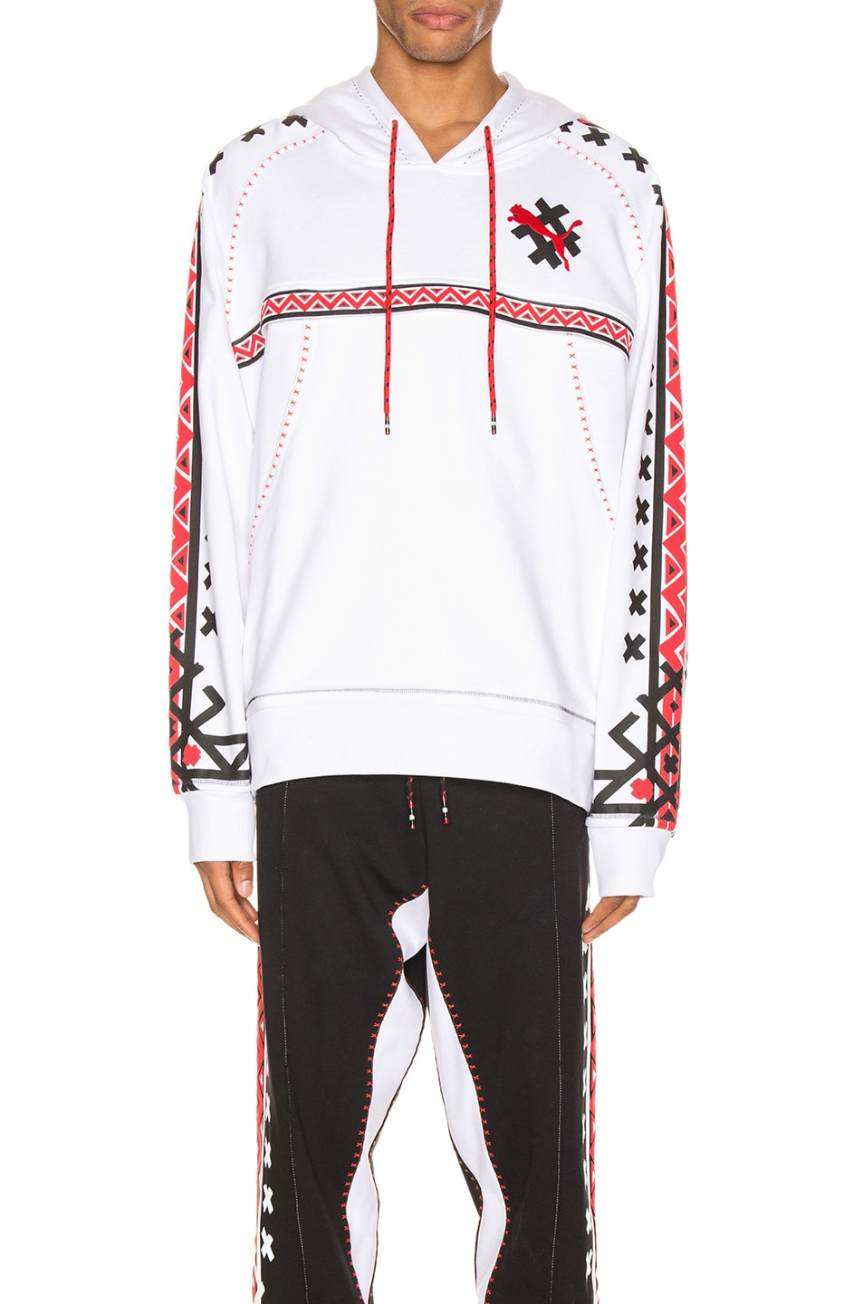 Image 1 of Puma Select x Jahnkoy Hoodie in Puma White
