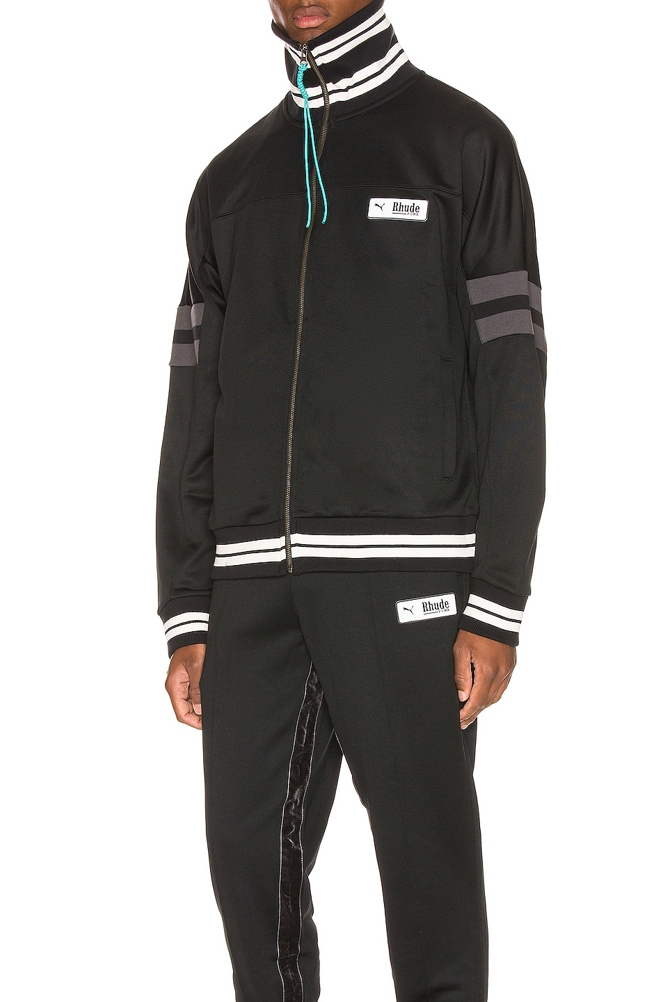 Image 2 of Puma Select x Rhude XTG Track Jacket in Black