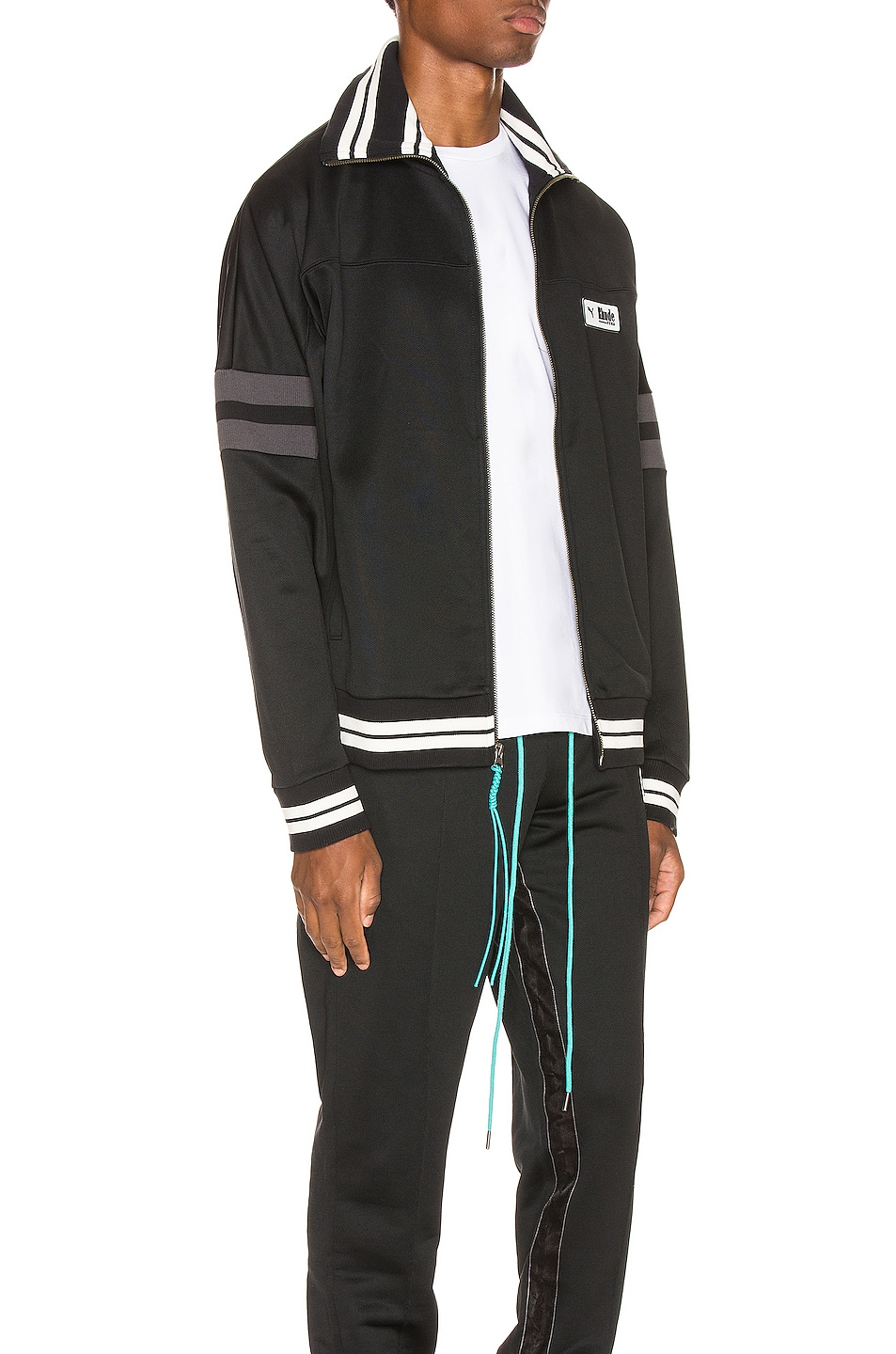 Image 3 of Puma Select x Rhude XTG Track Jacket in Black