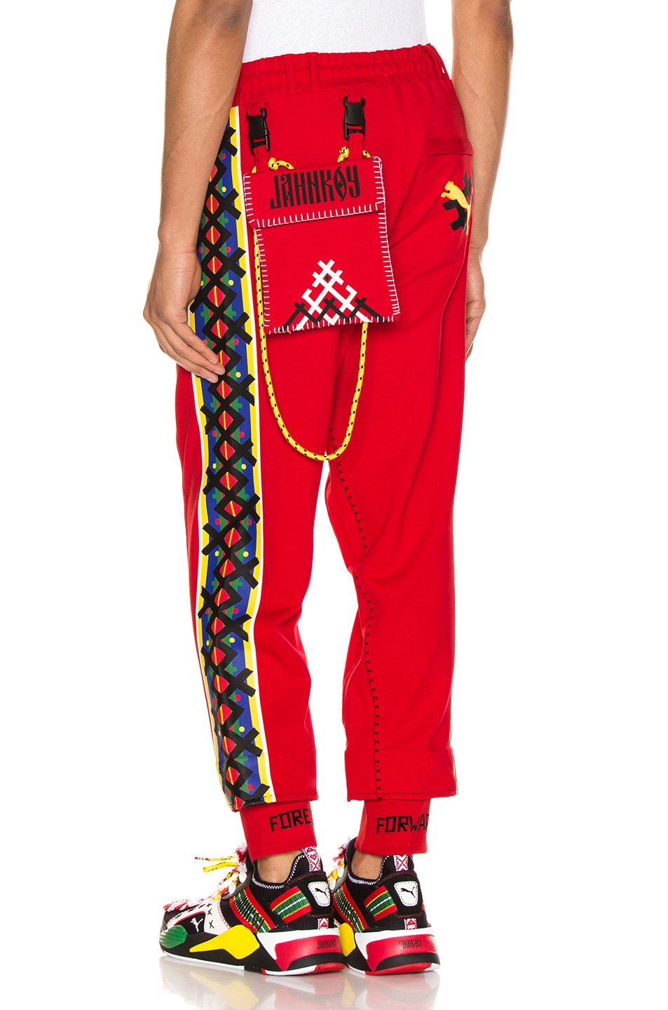Image 1 of Puma Select x Jahnkoy Pants in High Risk Red