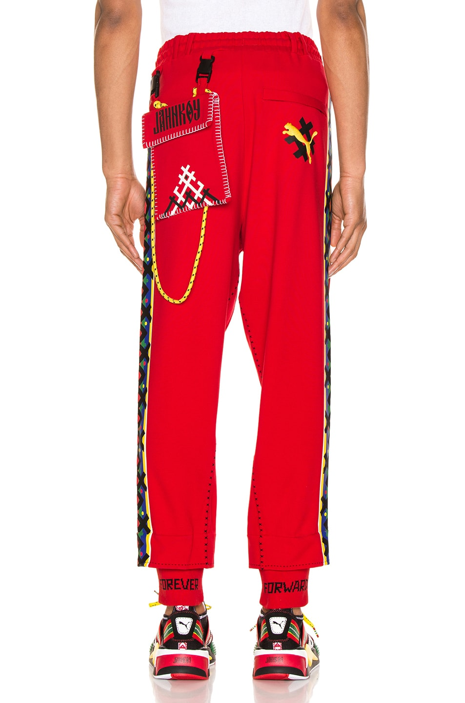 Image 5 of Puma Select x Jahnkoy Pants in High Risk Red
