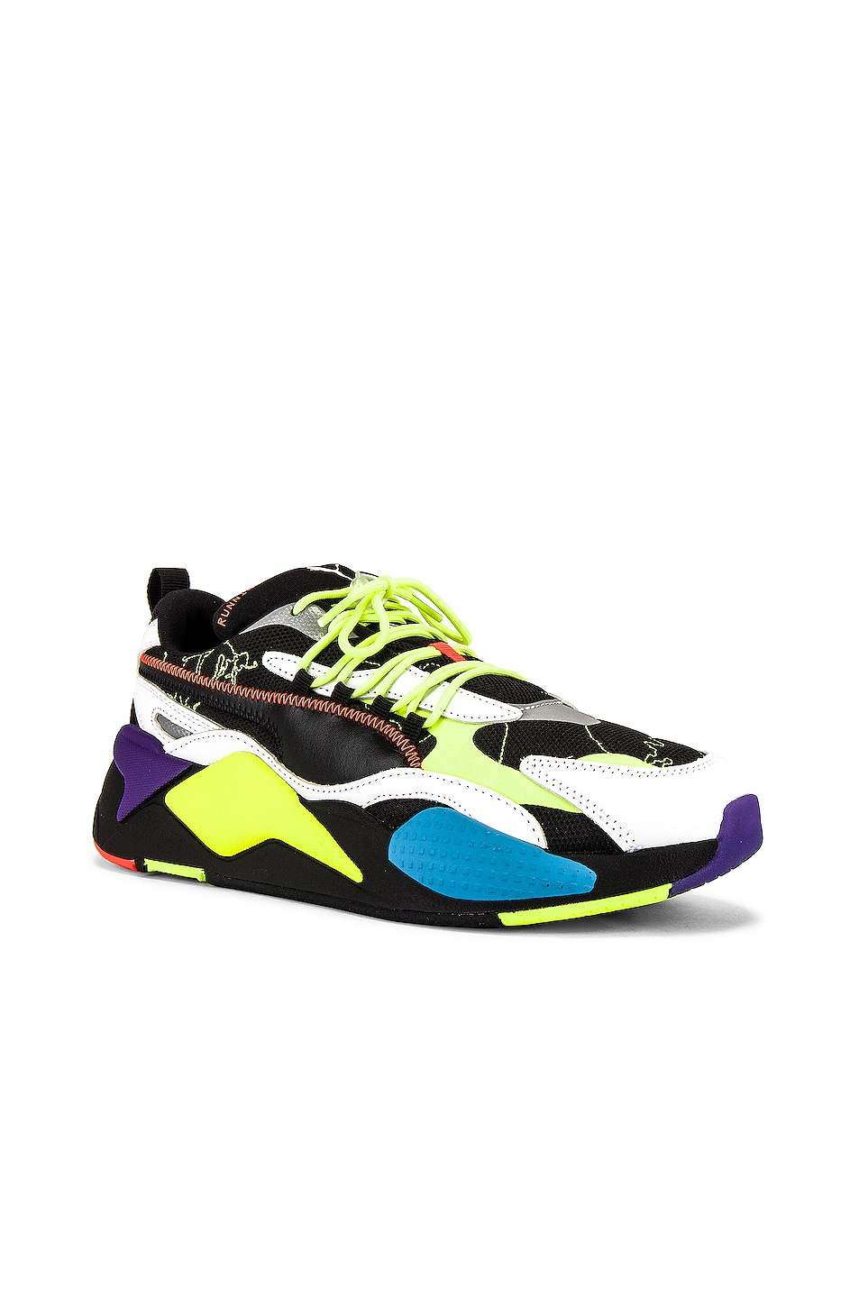 Image 1 of Puma Select x Centrail Saint Martins RS-X3 in Black