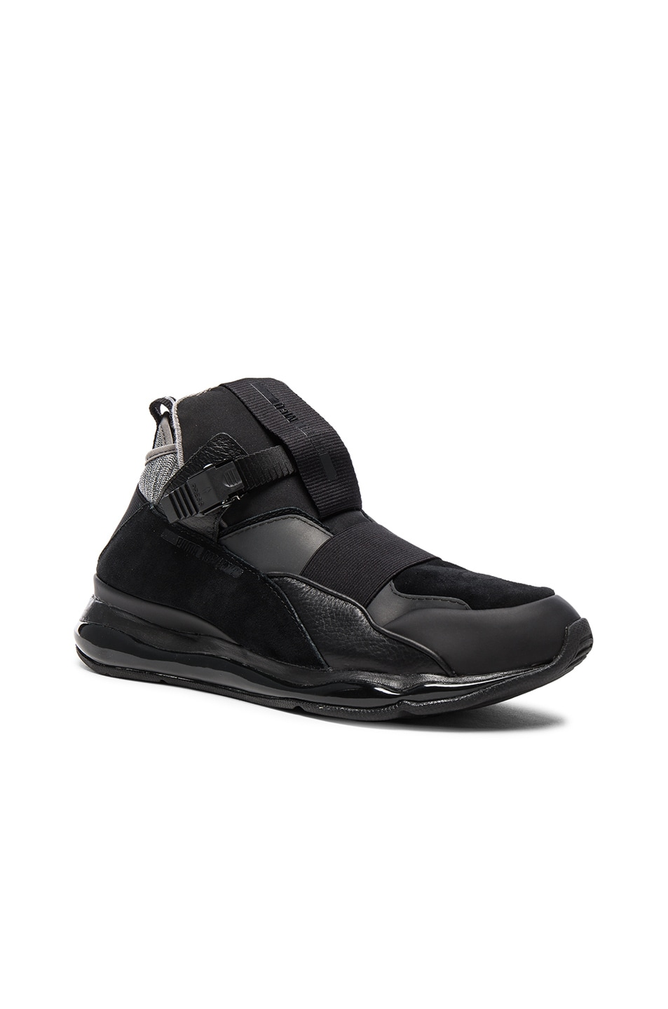 Image 1 of Puma Select x McQ Cell Bubble Runner Mid in Black 6d92b6f67