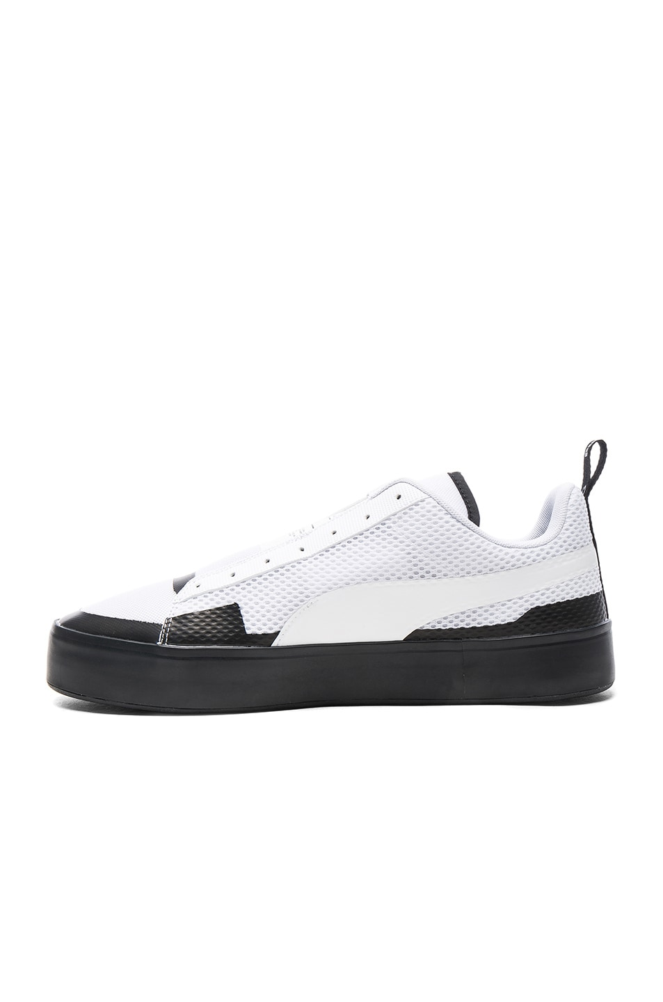 0bd39f094 Image 5 of Puma Select x UEG Court Play Slip Ons in White
