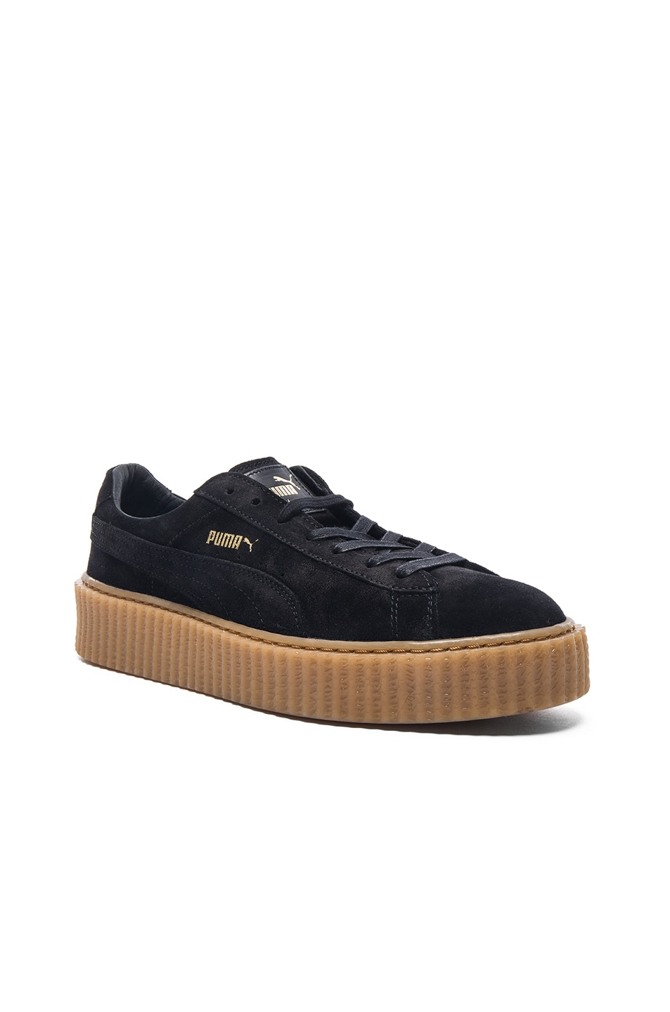 Image 1 of Puma by Rihanna Creepers in Black
