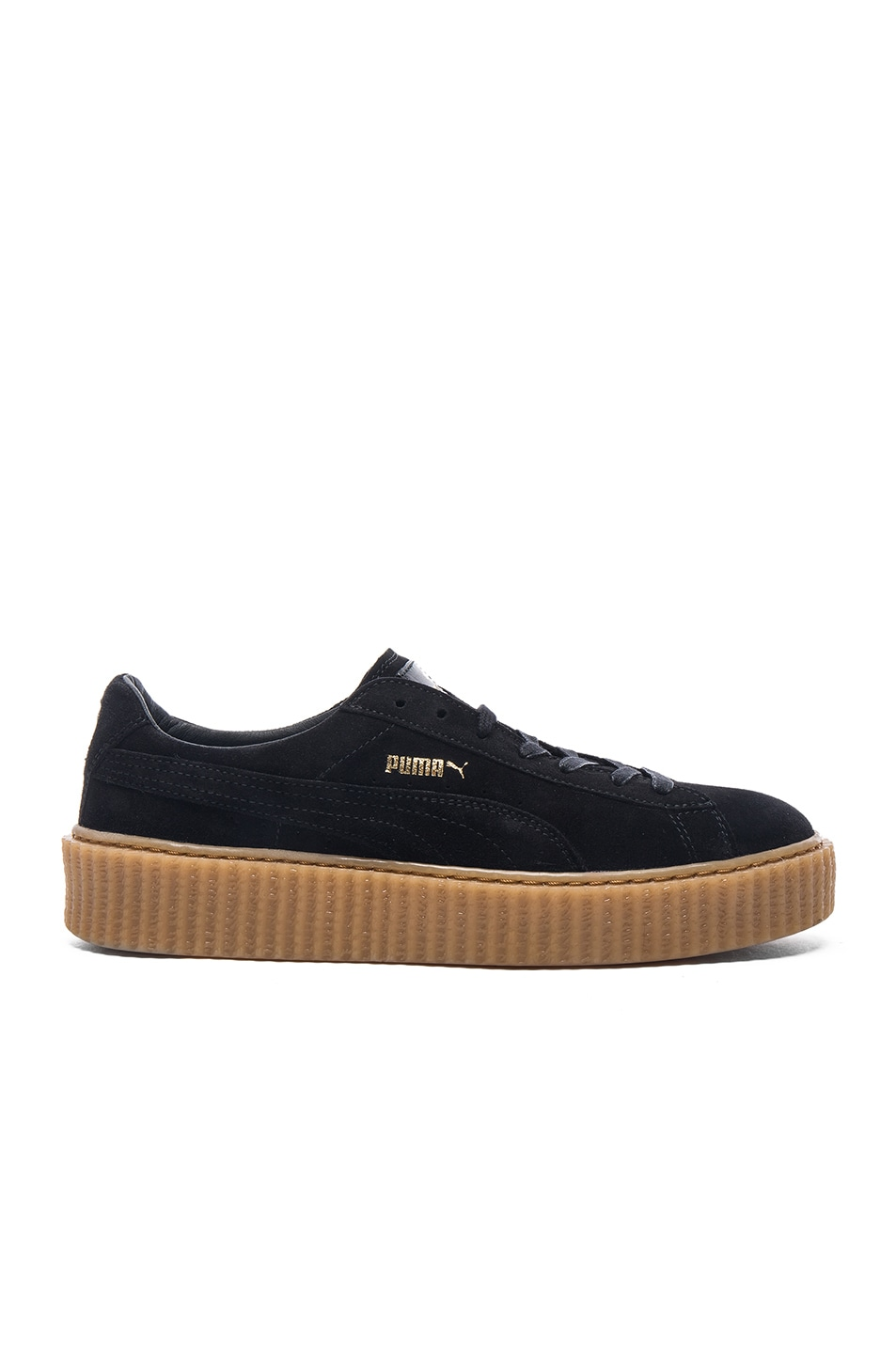 Image 2 of Puma by Rihanna Creepers in Black