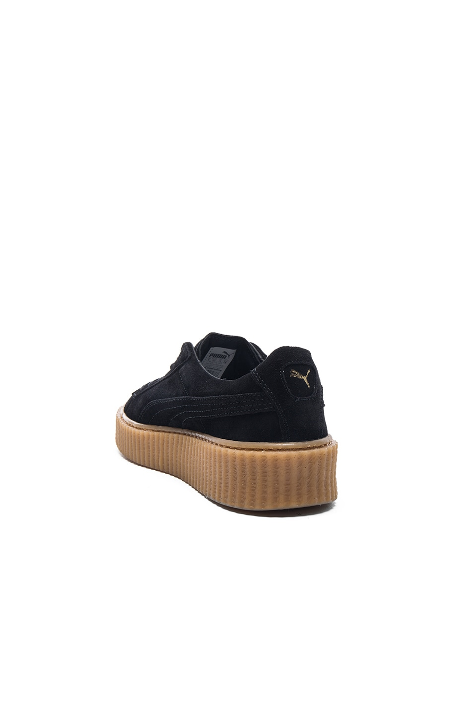 Image 3 of Puma by Rihanna Creepers in Black