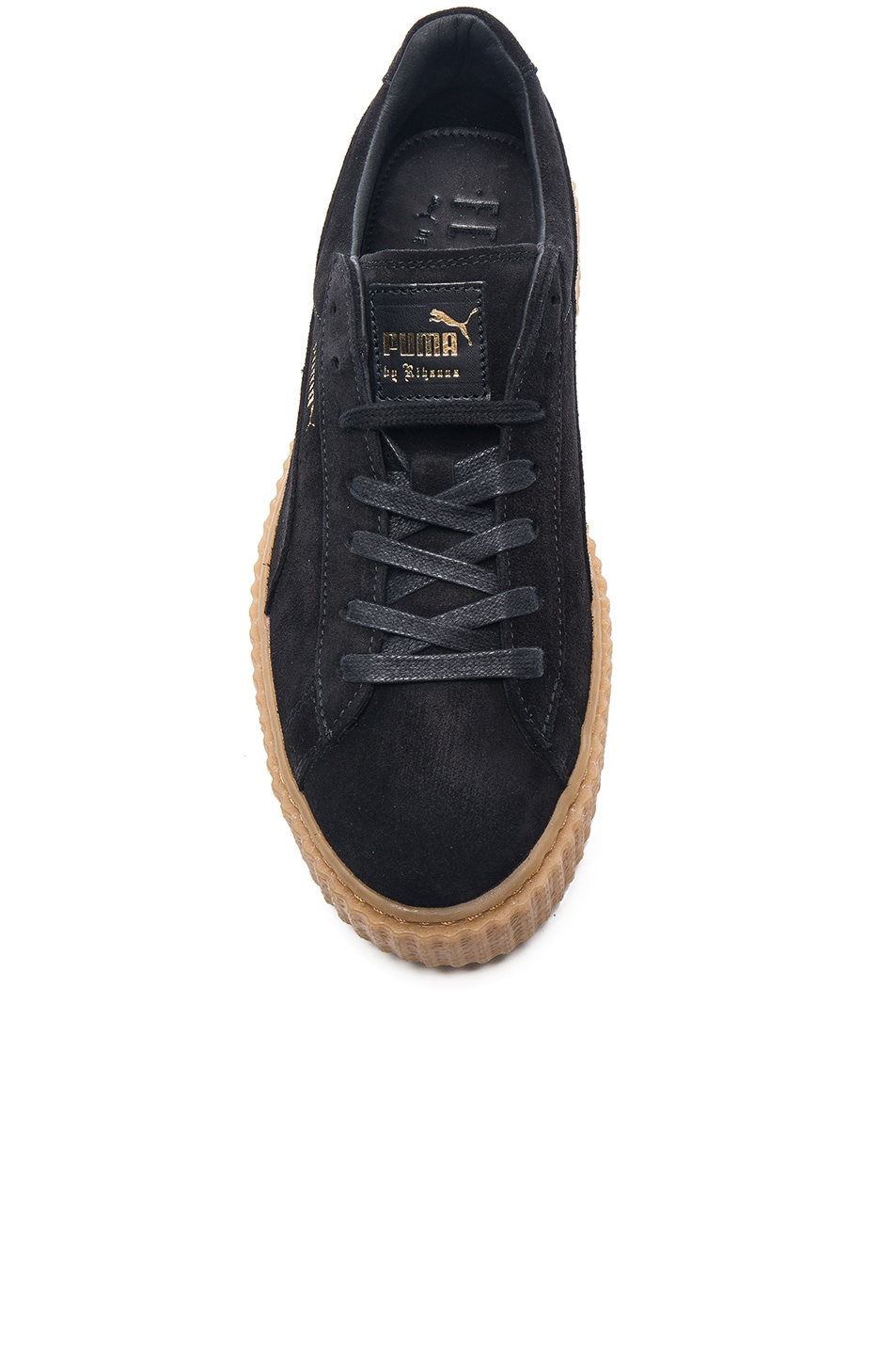 Image 4 of Puma by Rihanna Creepers in Black