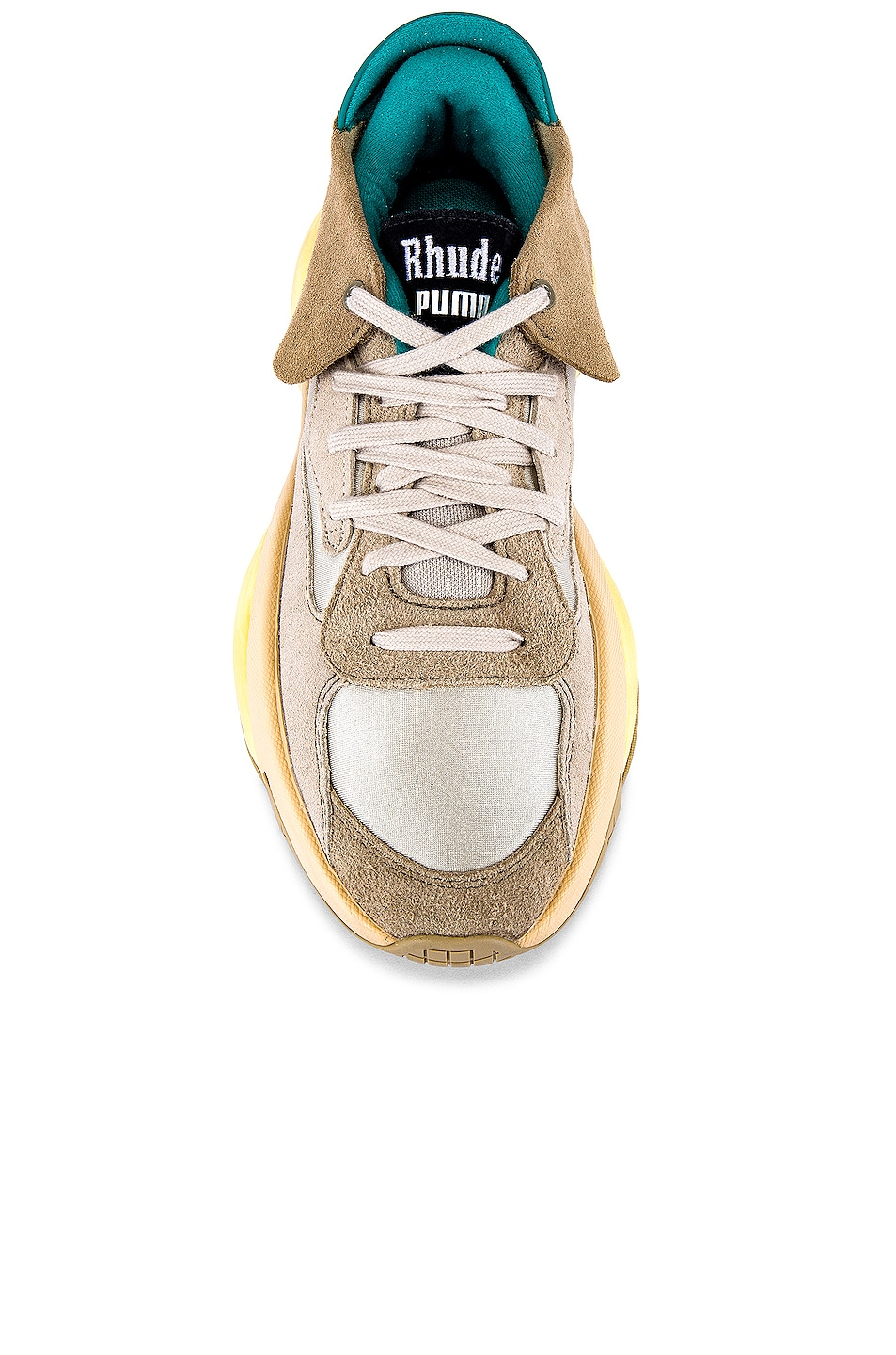 Image 4 of Puma Select x Rhude Alteration in Grey & Tan