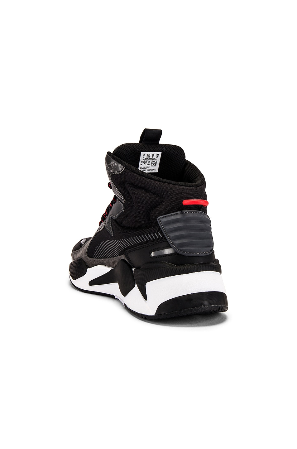 Image 3 of Puma Select x Les Benjamins RS-X Mid in Black & White