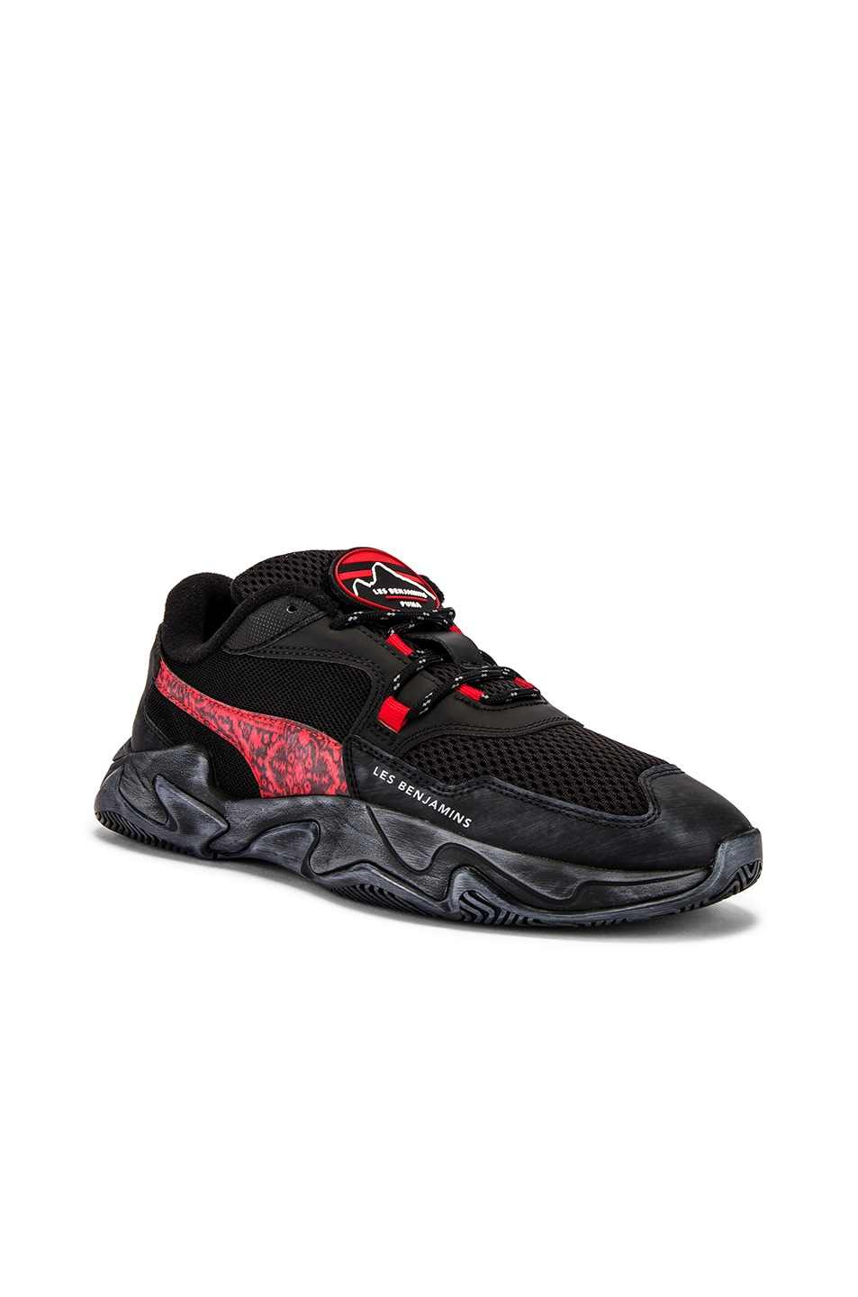 Image 1 of Puma Select x Les Benjamins Storm in Black & Red