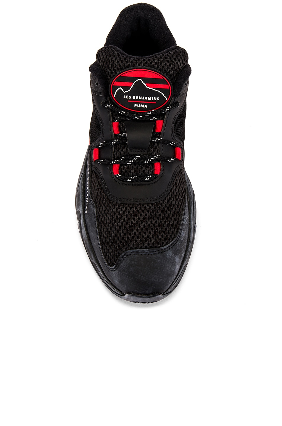Image 4 of Puma Select x Les Benjamins Storm in Black & Red
