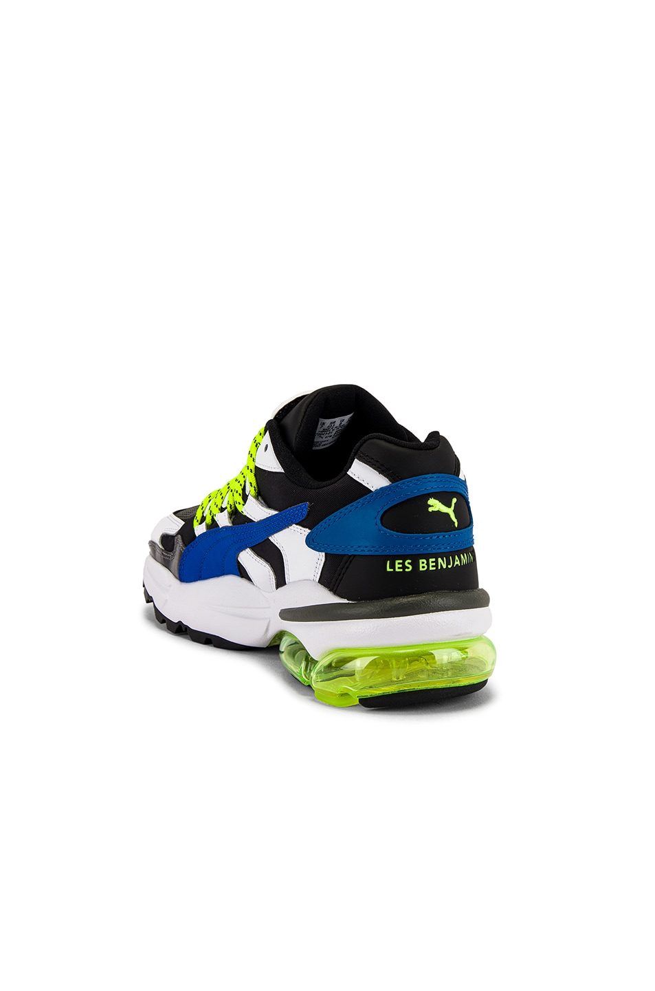 Image 3 of Puma Select x Les Benjamins Cell Alien in Black & White & Green