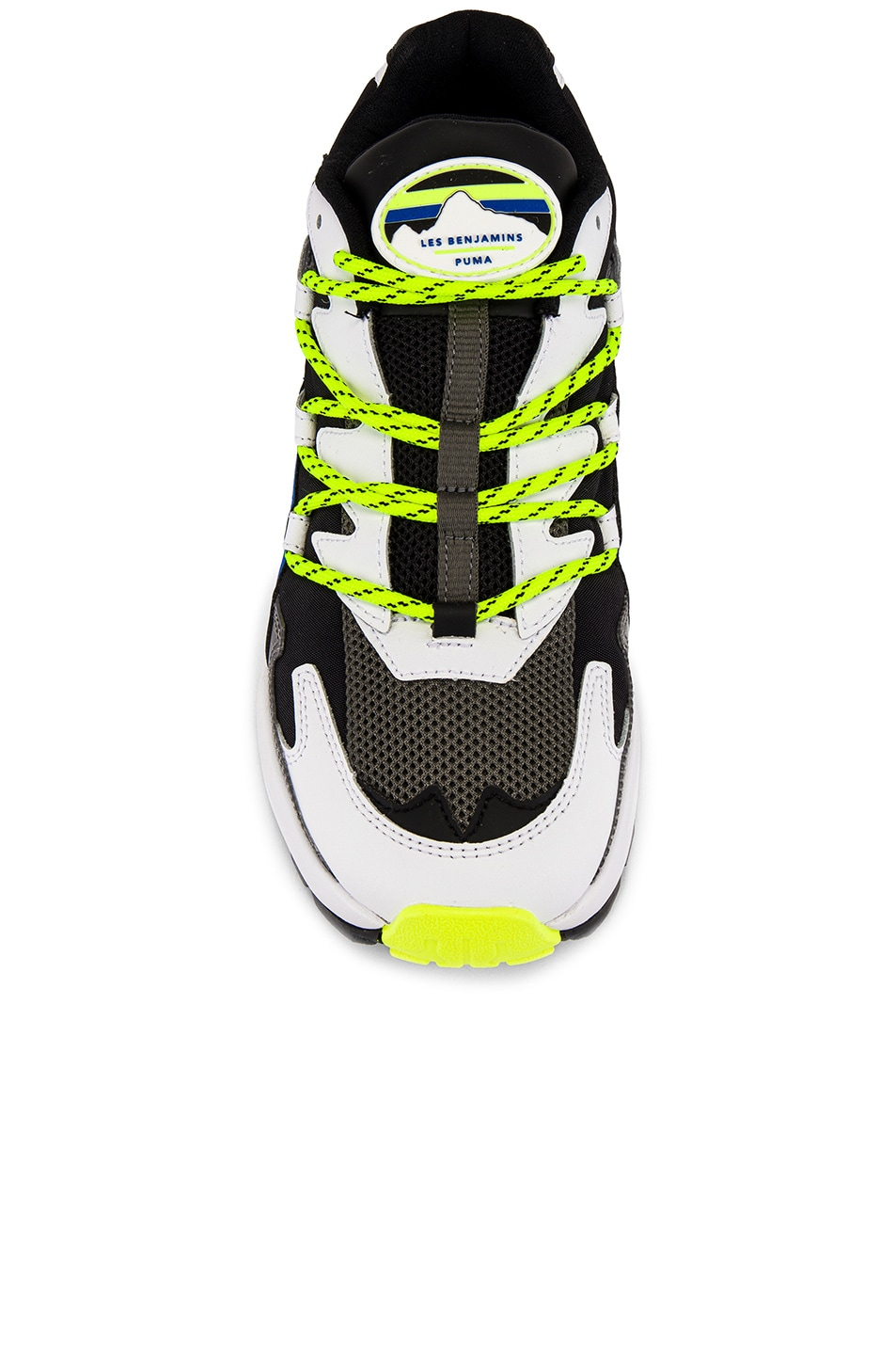 Image 4 of Puma Select x Les Benjamins Cell Alien in Black & White & Green