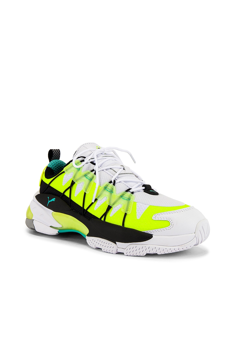 Image 1 of Puma Select LQD Cell Omega Lab in White & Yellow Alert