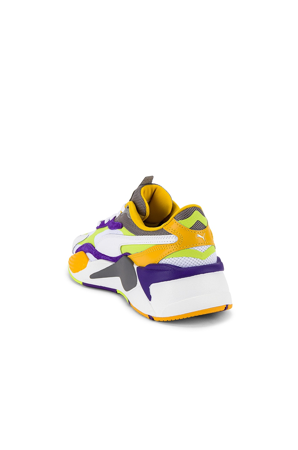 Image 3 of Puma Select RS-X3 Level Up Sneaker in Puma White & Limepunch