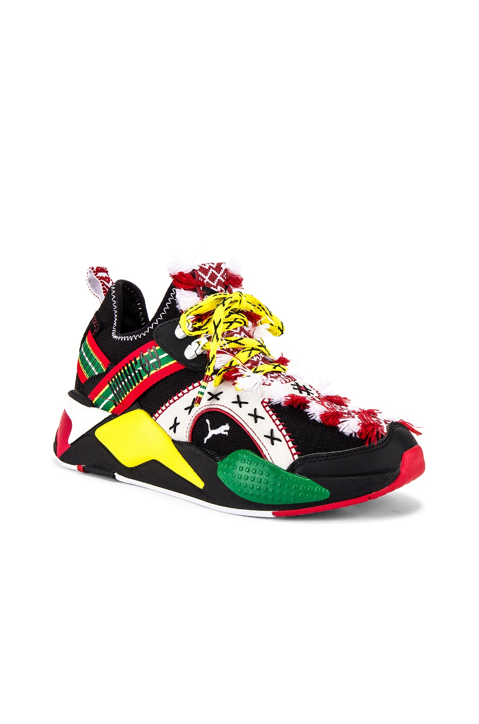 Image 1 of Puma Select RS-X Knit Jahnkoy in Puma Black