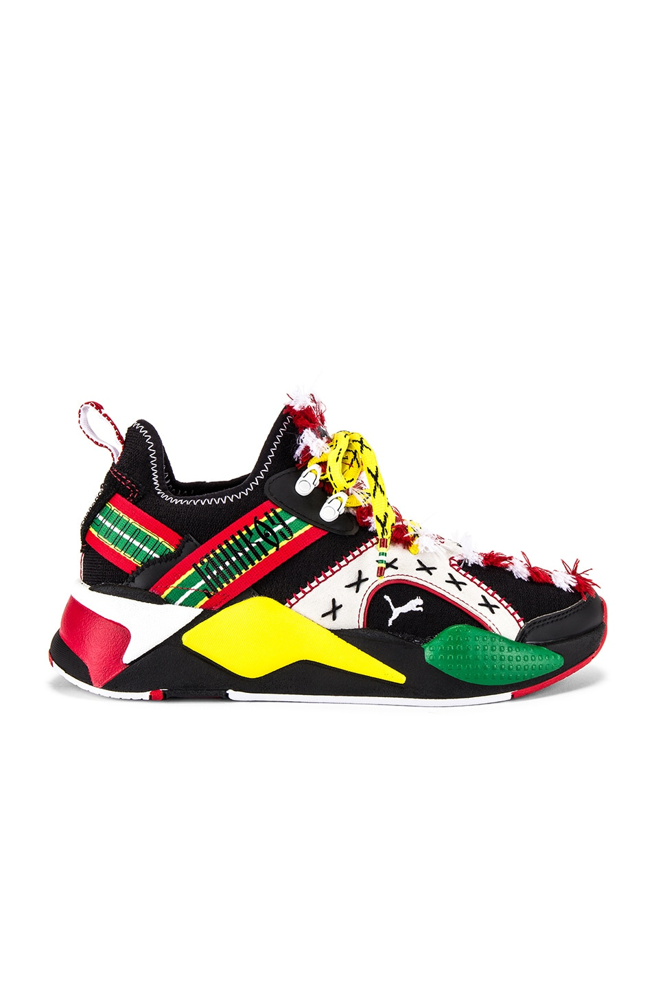 Image 2 of Puma Select RS-X Knit Jahnkoy in Puma Black