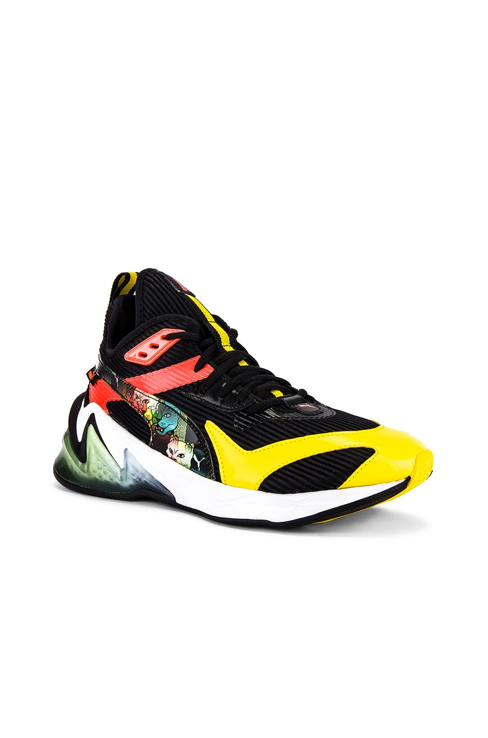 Image 1 of Puma Select LQDCell Prigin Scary Cat in Puma Black & Dandelion & Nrgy Red