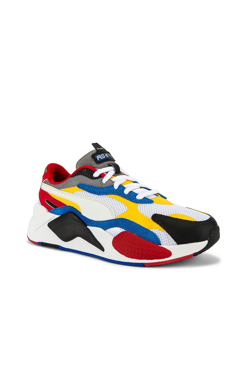 Image 1 of Puma Select RSX Cube RS-X3 Puzzle in Puma White & Spectra Yellow
