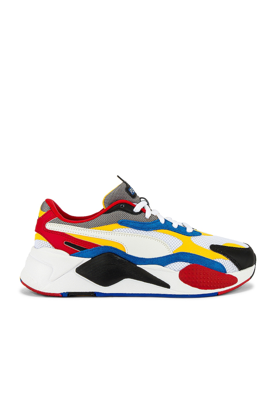 Image 2 of Puma Select RSX Cube RS-X3 Puzzle in Puma White & Spectra Yellow