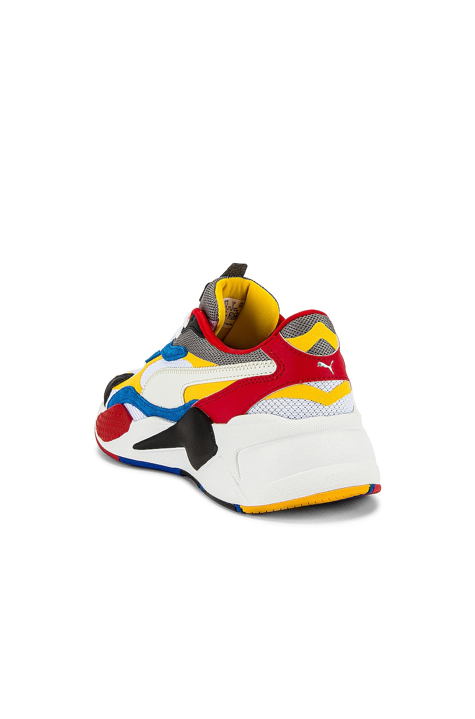 Image 3 of Puma Select RSX Cube RS-X3 Puzzle in Puma White & Spectra Yellow